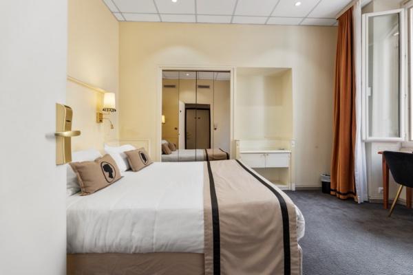 Le camere dell'hotel : comodità e calma